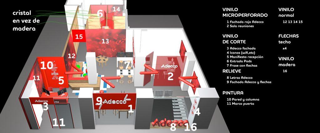 Adecco Madrid Flagship San Francisco de Sales
