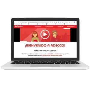 Bienvenido a Adecco web