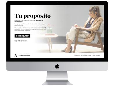 Webapp Tu Proposito.es